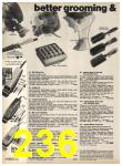 1977 Sears Fall Winter Catalog, Page 236