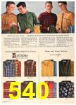 1960 Sears Fall Winter Catalog, Page 540