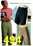 1969 Sears Spring Summer Catalog, Page 494