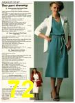 1980 Sears Spring Summer Catalog, Page 72