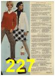 1968 Sears Fall Winter Catalog, Page 227