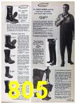 1967 Sears Fall Winter Catalog, Page 805