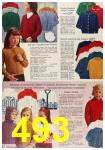 1963 Sears Fall Winter Catalog, Page 493