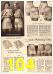1960 Sears Fall Winter Catalog, Page 104