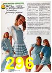 1972 Sears Spring Summer Catalog, Page 296