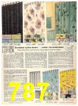 1956 Sears Fall Winter Catalog, Page 787