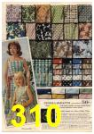 1961 Sears Spring Summer Catalog, Page 310