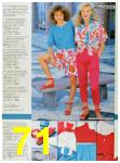 1986 Sears Spring Summer Catalog, Page 71