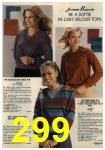 1980 Sears Fall Winter Catalog, Page 299