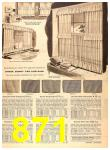 1956 Sears Fall Winter Catalog, Page 871