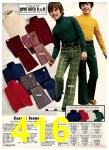 1975 Sears Fall Winter Catalog, Page 416
