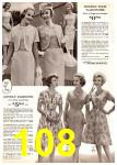 1962 Montgomery Ward Spring Summer Catalog, Page 108