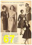1962 Sears Fall Winter Catalog, Page 67
