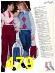 1983 Sears Fall Winter Catalog, Page 479