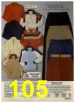 1980 Sears Fall Winter Catalog, Page 105