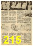 1960 Sears Spring Summer Catalog, Page 215