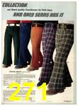1974 Sears Fall Winter Catalog, Page 271