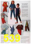 1964 Sears Fall Winter Catalog, Page 539
