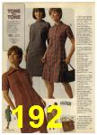 1968 Sears Fall Winter Catalog, Page 192