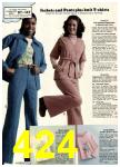 1976 Sears Fall Winter Catalog, Page 424
