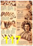 1942 Sears Spring Summer Catalog, Page 117