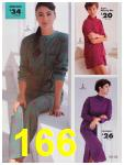 1991 Sears Fall Winter Catalog, Page 166