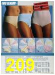1986 Sears Spring Summer Catalog, Page 209