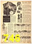 1940 Sears Fall Winter Catalog, Page 746