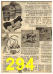 1961 Sears Spring Summer Catalog, Page 294