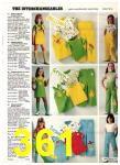 1977 Sears Spring Summer Catalog, Page 361