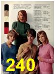 1965 Sears Fall Winter Catalog, Page 240