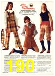 1971 Sears Fall Winter Catalog, Page 190