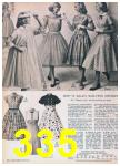 1957 Sears Spring Summer Catalog, Page 335
