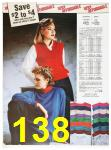 1985 Sears Fall Winter Catalog, Page 138