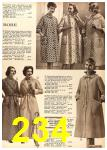 1960 Sears Fall Winter Catalog, Page 234