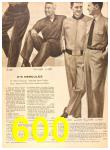 1956 Sears Fall Winter Catalog, Page 600