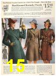1940 Sears Fall Winter Catalog, Page 15