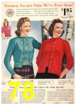 1940 Sears Fall Winter Catalog, Page 78