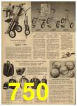 1962 Sears Spring Summer Catalog, Page 750