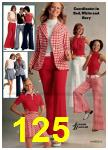 1974 Sears Spring Summer Catalog, Page 125