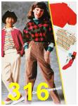 1985 Sears Fall Winter Catalog, Page 316