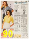 1987 Sears Spring Summer Catalog, Page 90