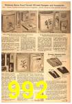 1958 Sears Spring Summer Catalog, Page 992