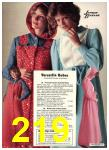 1976 Sears Fall Winter Catalog, Page 219