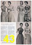 1957 Sears Spring Summer Catalog, Page 43