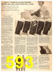 1956 Sears Fall Winter Catalog, Page 593