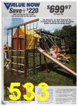 1985 Sears Spring Summer Catalog, Page 533