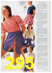 1972 Sears Spring Summer Catalog, Page 295