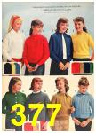 1962 Sears Fall Winter Catalog, Page 377
