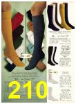 1971 Sears Fall Winter Catalog, Page 210